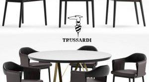 تحميل موديلات  492 Table & chair- طاولة-وكرسي Trussardi Casa Larzia  2010