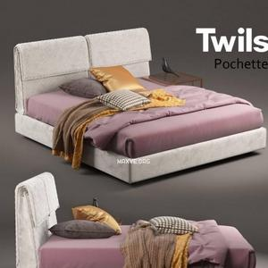تحميل موديلات  500 Twils Pochette سرير bed