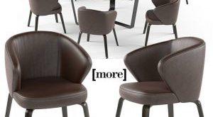 تحميل موديلات  503 Table & chair- طاولة-وكرسي Mudi arm set