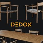 تحميل موديلات  509 Table & chair- طاولة-وكرسي Tibbo Dedon