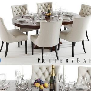 تحميل موديلات  512 Table & chair- طاولة-وكرسي banks hayes