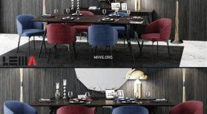 تحميل موديلات  514 Table & chair- طاولة-وكرسي BEA Lema