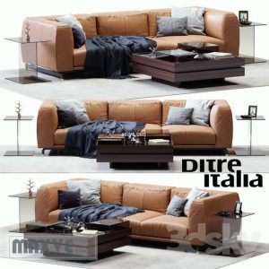 588 Ditre italya كنب Ditre italya Germain Leather