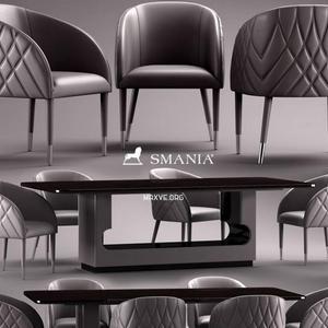 تحميل موديلات  516 Table & chair- طاولة-وكرسي smania Ama