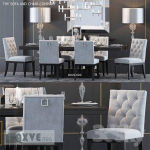 تحميل موديلات  517 Table & chair- طاولة-وكرسي TSACCS4