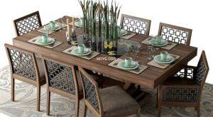 تحميل موديلات  519 Table & chair- طاولة-وكرسي
