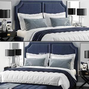 تحميل موديلات  527 Sanibel Queen Upholstered سرير bed