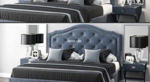 تحميل موديلات  528 LuXeo Brentwood Queen Tufted سرير bed