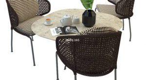 تحميل موديلات  527 Table & chair- طاولة-وكرسي Minotti Aston cord outdoor
