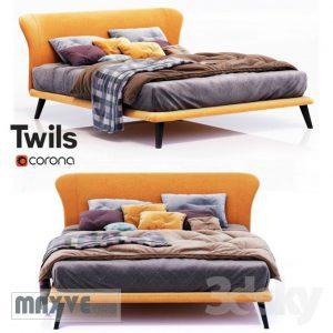 تحميل موديلات  536 Twils orange سرير bed