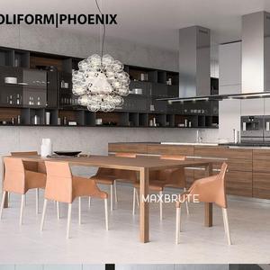 Kitchen 3dmodel poliform phoenix