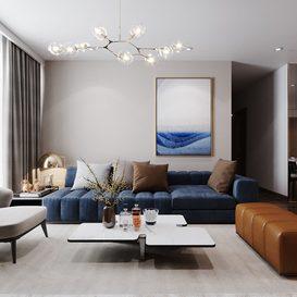 Livingroom 03 By Vu Quynh Trang 3d model Download Free Maxve