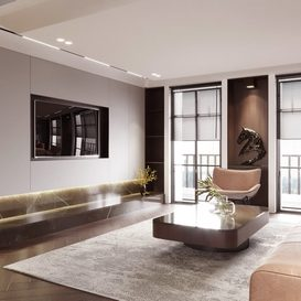 Livingroom 21 By Trung Nghia 3d model Download Free Maxve