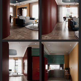 Livingroom 33 By Duc Phan 3d model Download Free Maxve