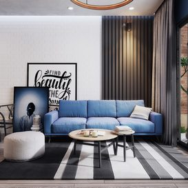 Livingroom 74 By LeVietDung 3d model Download Free Maxve
