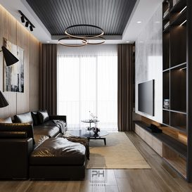 Livingroom 78 By Pham Hung 3d model Download Free Maxve