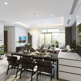 Livingroom 80 By Le Hoang Hai 3d model Download Free Maxve
