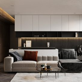 Livingroom 83 By Tran An 3d model Download Free Maxve