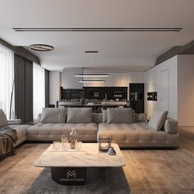 Livingroom 85 By Tran Nghia 3d model Download Free Maxve