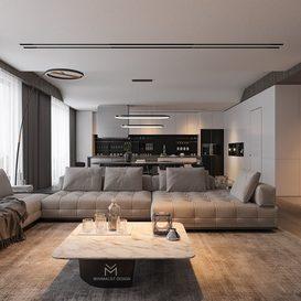 Livingroom 85 By Tran Nghia 3d model Download Free Maxve