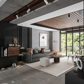 Livingroom 102 By ThachPham 3d model Download Free Maxve