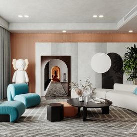 Livingroom 109 By Chung Lee 3d model Download Free Maxve