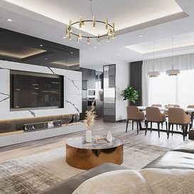 Livingroom 111 By DoTienDung 3d model Download Free Maxve