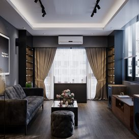 Livingroom 119 By Chou Nguyen 3d model Download Free Maxve