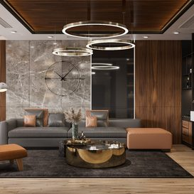 Livingroom 44 By Dung Dac 3d model Download Free Maxve