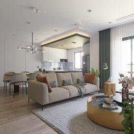 Livingroom 07 By Tien Trung 3d model Download Free Maxve