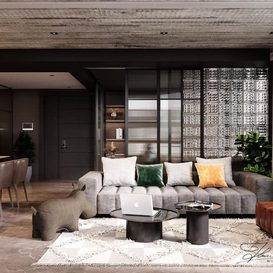 Livingroom 38 By Oi A Chun 3d model Download Free Maxve