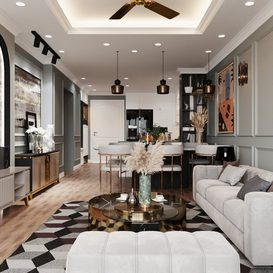 Livingroom 39 By Pham Huy Kien 3d model Download Free Maxve