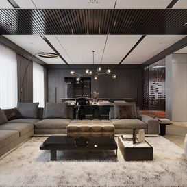 Livingroom 65 By Hoang Son 3d model Download Free Maxve