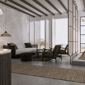 Livingroom 72 By VuVu 3d model Download Free Maxve