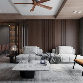 Livingroom 62 By NguyenHa 3d model Download Free Maxve