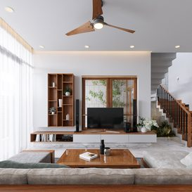 Livingroom 66 By Thang Nguyen 3d model Download Free Maxve