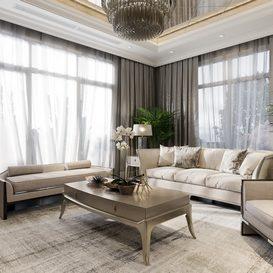 Livingroom 68 By Dinh Nam 3d model Download Free Maxve