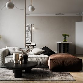 Livingroom 110 By DatNguyen 3d model Download Free Maxve