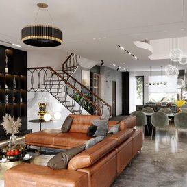 Livingroom 113 By Long Rbk 3d model Download Free Maxve