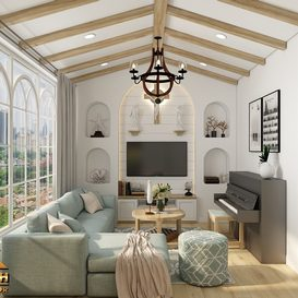 Livingroom 121 By KhaiKhai 3d model Download Free Maxve