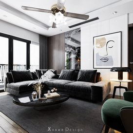 Livingroom 92 3dsmax By Long 3d model Download Free Maxve