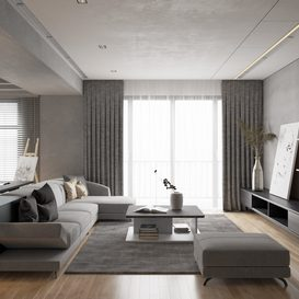Livingroom 106 By VinhVan 3d model Download Free Maxve