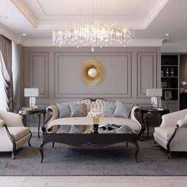 Livingroom 166 By Mask Decor 3d model Download Free Maxve
