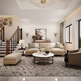 Livingroom 141 By Linh Hoang 3d model Download Free Maxve