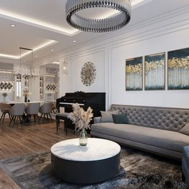 Livingroom 142 By Tran Dung 3d model Download Free Maxve