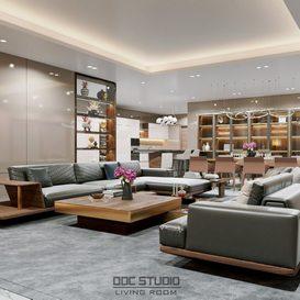 Livingroom 145 By Mit 3d model Download Free Maxve