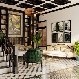 Livingroom 169 By DiepNguyen 3d model Download Free Maxve