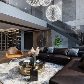 Livingroom 150 by Bui Vien 3d model Download Free Maxve