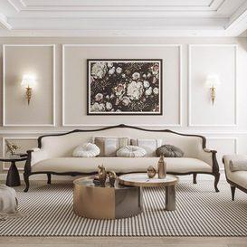 Livingroom 165 By CongVu 3d model Download Free Maxve