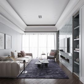 Livingroom 177 By ThanhNguyen 3d model Download Free Maxve